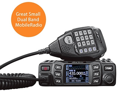 Top rated dual band mobile ham radio - AnyTone AT-778UV