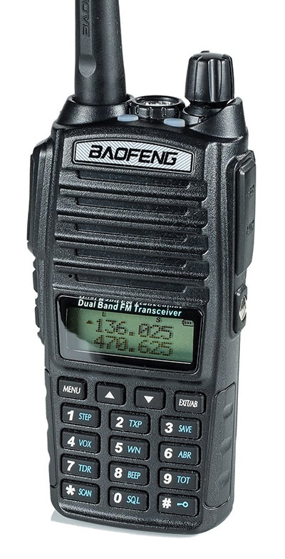 Recommended ham radio for beginners - BaoFeng UV-82HP