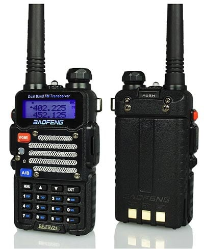 Baofeng BF-F9 Tri-Power FM Ham Radio