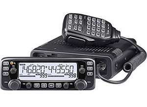 Icom IC-2730A Dual Band Mobile Radio