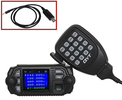 QYT KT-8900D Two-Way Dual Band Car Radio